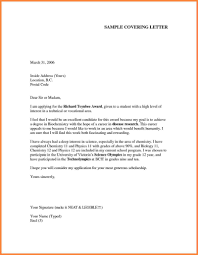 Example Of Cover Letter Resume Cover Letter For Newly Graduated Student Image Collections Cover
