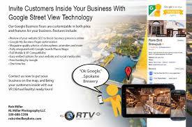 Spokane Washington Google Maps by Google Street View Business Tours Rl Miller Photography Rl