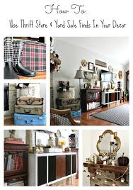 thrift store diy home decor trashtastic tuesday how to use thrift store yard sale finds in