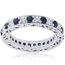 3 4ct pave halo blue pompeii3 rings diamond sears