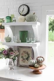Fall Kitchen Decor - fall kitchen tour so much better with age