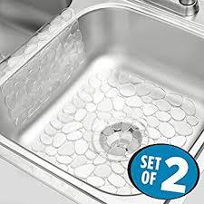 clear plastic sink mats fg129506bla 71691424451oop webpdp shop kitchen sink liners
