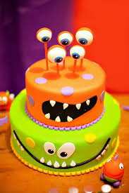monsterously cute 4th birthday party monsters birthdays and babies