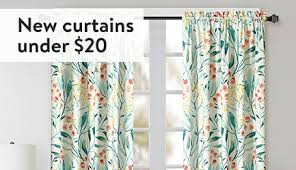 Curtains For A Picture Window Curtains Window Treatments Walmart