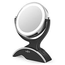 Amazon Vanity Mirror Amazon Com Makeup Mirror Led Lighted With 1x 7x Magnification