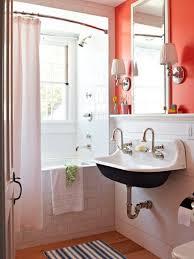 orange bathroom decor ideas