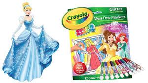 disney princess crayola color wonder magic paint glitter pack