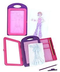 amazon com melissa u0026 doug fashion design art activity kit 9