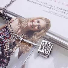 wholesale the avengers thor hammer zinc alloy chain necklace metal