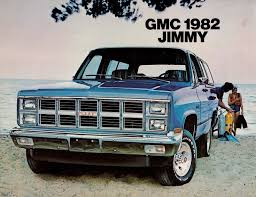 jeep jimmy 1982 gmc jimmy information and photos momentcar