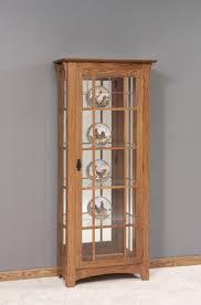 curio cabinet unique wooden curio cabinet pictures design andre
