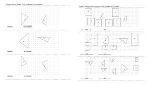 Similar And Congruent Figures Worksheet Congruent Shapes And Figures Printables Worksheets And Lessons