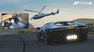 lamborghini helicopter forza motorsport 7 lamborghini centenario gameplay logitech g920