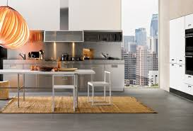 Modern Italian Kitchen by Stainless Steel Kitchen Cabinets Steelkitchen Interior Ideas