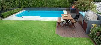 Backyard Ideas With Pool Inground Pool In Small Backyard Pool Design Ideas