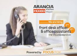 Duties Of Front Desk Officer by 2016 Khadko Jobs And Hr Specialist