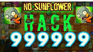 hack sun no flower plants v zombie youtube