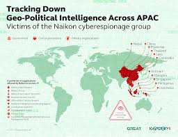 South China Sea Map by Naikon Apt Steals Geopolitical Data From The South China Sea