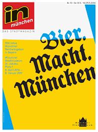 K Hen M Chen In München Ausgabe 25 2016 By Inmagazin Verlags Gmbh Issuu