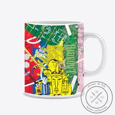 cuisine cr騁oise ceramic mug