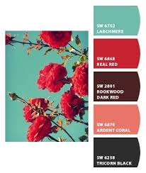 paint inspiration turquoise and red paint colors from chip it