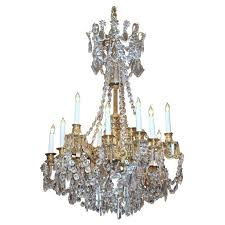 Crystal And Bronze Chandelier 48 Best Bronze U0026 Baccarat Chandeliers Images On Pinterest