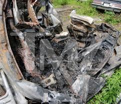 ryan dunn u0027s porsche scorched heap of scrap metal tmz com