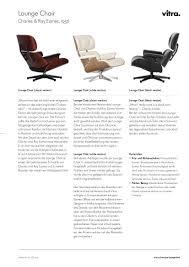 Esszimmerst Le Kirsche Vitra Lounge Chair U0026 Ottoman Classic Version Kirschbaum Nero