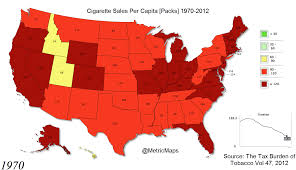 Heartland Community College Map The Decline Of Cigarettes In 2 Captivating Map Gifs Huffpost
