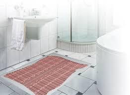 fußbodenheizung badezimmer fußbodenheizung im bad elektrisch als zusatz oder zentral durchströmt
