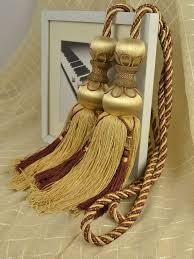 Gold Curtain Tassels 707 Best Passementerie Images On Pinterest Tassels Curtains And