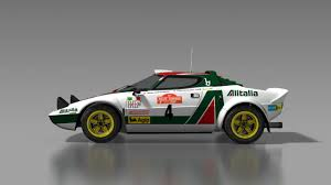 martini livery lancia historical liveries