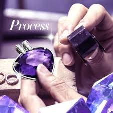 amazon black friday jewelry swarovski amazon com ladycolour purple heart pendant necklace swarovski