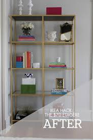 etagere ikea diy ikea gold shelves hack only 70