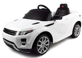 white land rover range rover 12v kids electric car white amazon co uk toys u0026 games