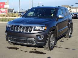 2014 blue jeep grand cherokee used 2014 jeep grand cherokee 4wd limited luxury finance 176 bw