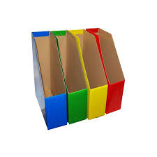 bold color magazine file holders bold colors coordinate important files by