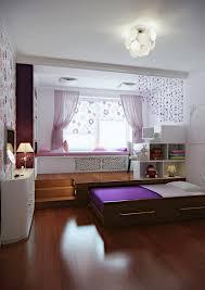Kleines Schlafzimmer Nur Bett Ein Kinderzimmer Mit Podest Das Ein Rollbett Versteckt