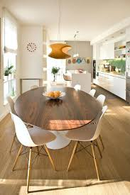Dining Room Brilliant Stunning Decoration  Round Pedestal Table - Brilliant white and black dining table property