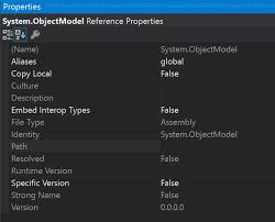Studio System by Dll Monoandroid U0027s System Objectmodel Is Not Recognized By Visual