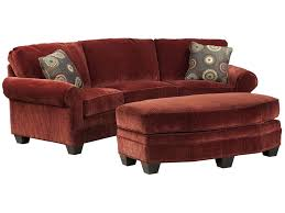 Curved Conversation Sofa Fairfield Sofa Accents Curved Conversation Sofa With Traditional