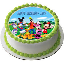 mickey mouse birthday mickey mouse clubhouse 3 edible cake or cupcake topper edible