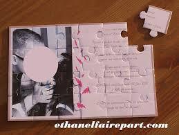 faire part mariage puzzle les 25 meilleures idées de la catégorie faire part puzzle sur