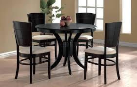 modern espresso dining room table formal sets pece dnng ikea set