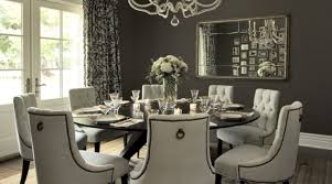 Outstanding Round Dining Table And  Chairs  For Dining Room - Black dining table for 8