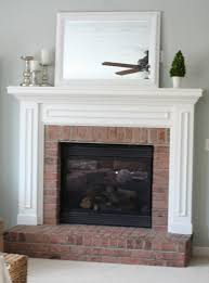 How To Resurface A Brick Fireplace by How To Whitewash Brick Sand And Sisal