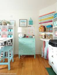 How To Organize Desk How To Organize A Craft Room Work Space The Happy Housie