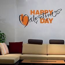 Wall Decorations For Valentine S Day by Aliexpress Com Buy Valentine U0027s Day Wall Decals Quote Decorations