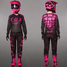 motocross combo gear fox motocross u0026 enduro girls mx combo fox 180 black maciag offroad