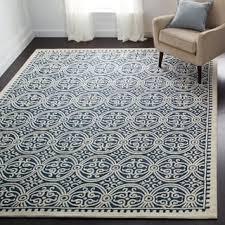 wool rug safavieh handmade moroccan cambridge navy blue wool rug free